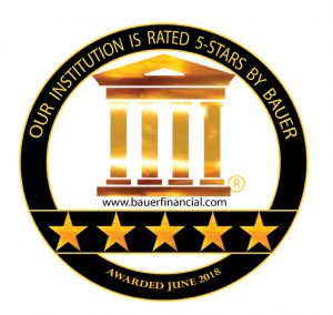 Our Institution is rated 5-Stars by Bauer (Awarded June 2018)