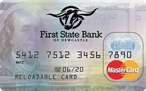 First State Bank Reloadable Card